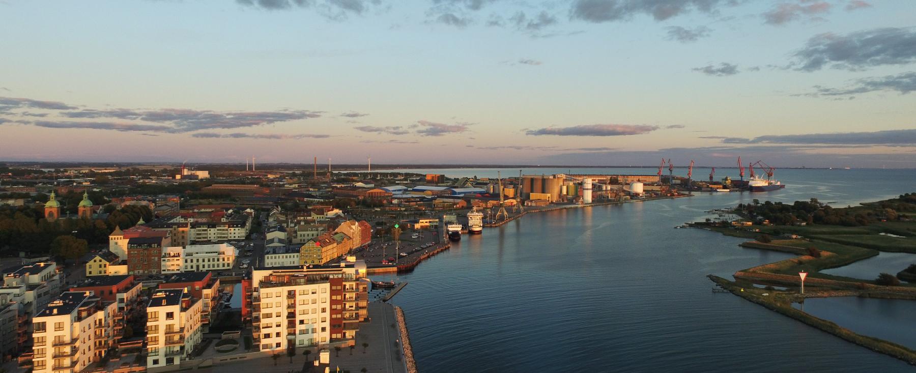 Landskrona panorama